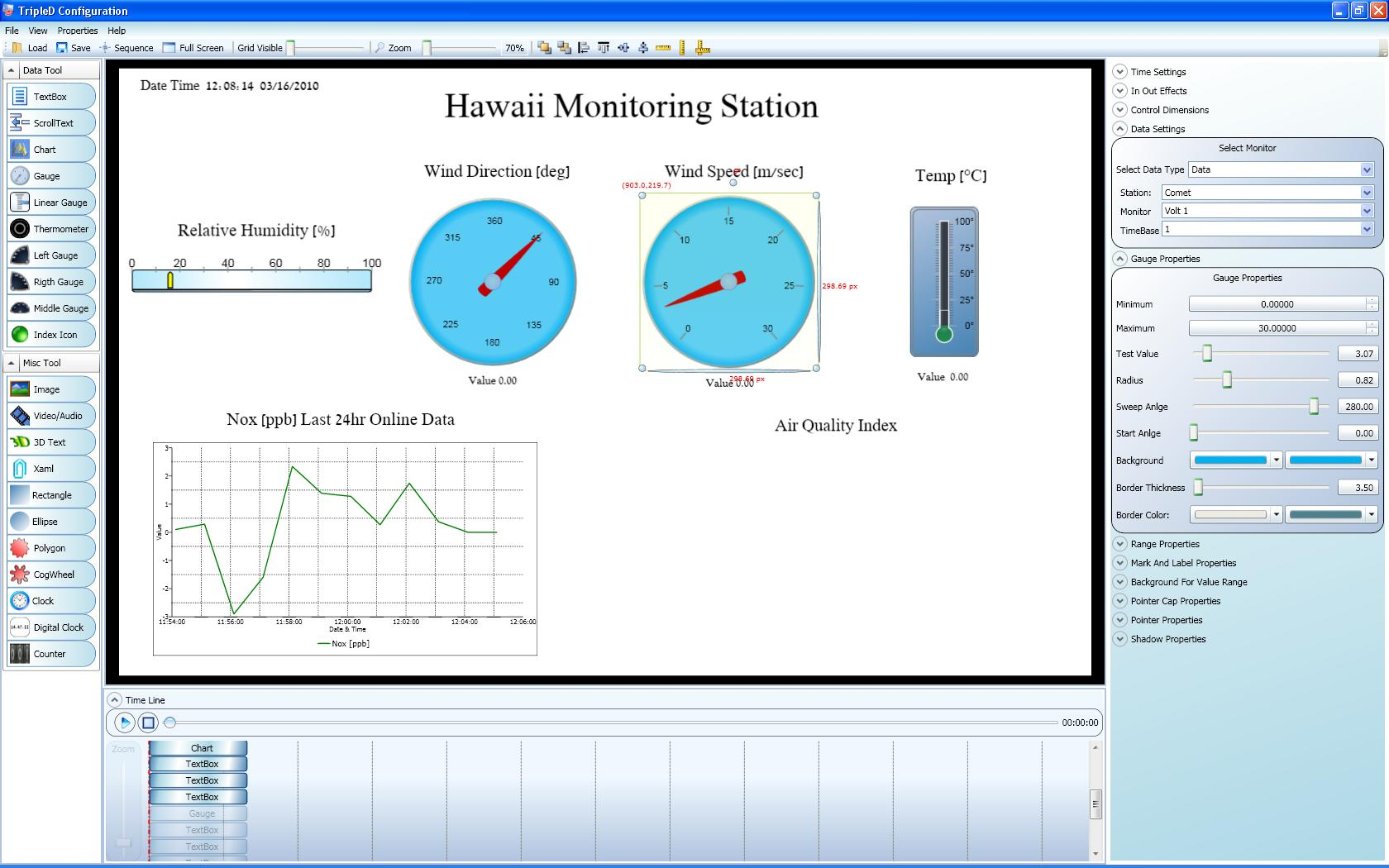 "Envitech Europe Triple-D Example for a clip's capture while it is configured by the ""Public Display Configuration"" application"