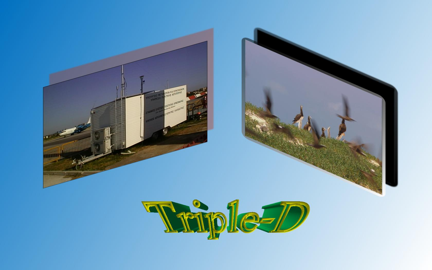 Envitech Europe Triple-D Multimedia - Example for Image, Video File and 3D Text